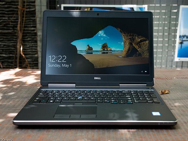 Laptop Dell Precision 7510 chạy mượt mà chương trình đồ họa cao