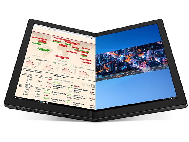 Lenovo ThinkPad X1 Fold voi thiet ke man hinh gap dau tien tren the gioi