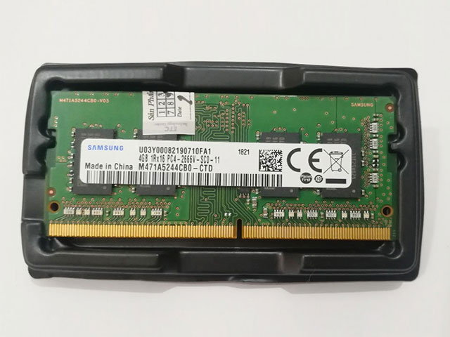 Laptop Samsung DDR4 Bus 2666Mhz tương thích đa dạng dòng máy
