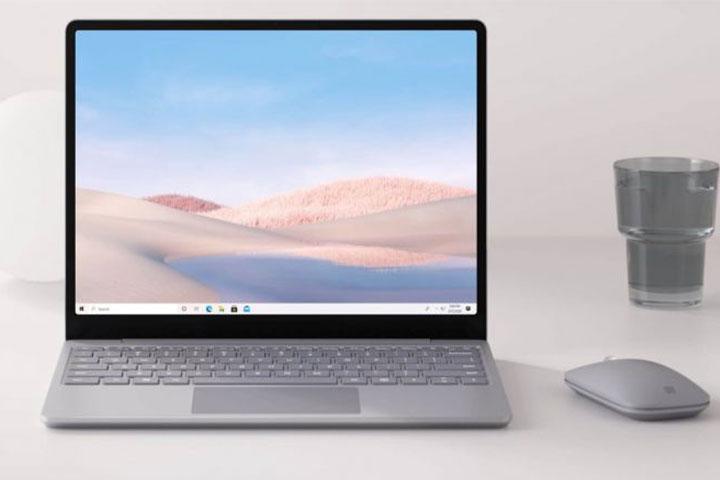 Hệ thống âm thanh vượt trội của Surface Laptop Go  Màu Platinum