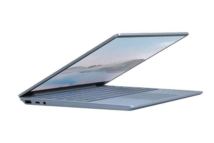 Thiết kế đặc biệt của dòng laptop Surface Laptop Go  Màu Platinum