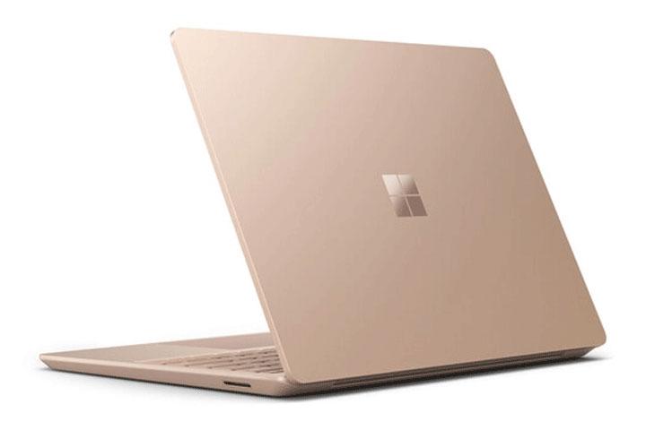 Surface Laptop Go Màu Sandstone với thiết kế sang trọng