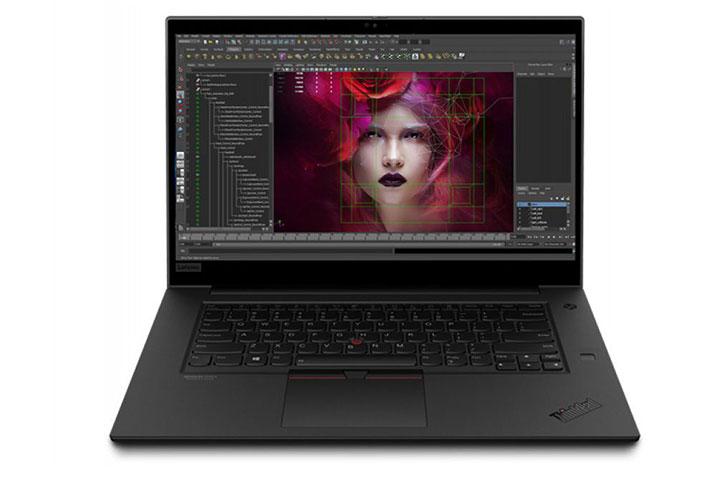 Thiết kế sang trọng của ThinkPad P1 Gen 2 Mobile Workstation