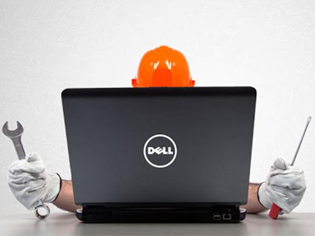 Sữa lỗi treo logo ở laptop Dell hiệu quả
