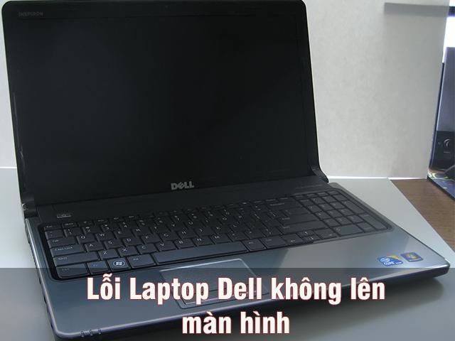 Loi laptop Dell khong len nguon man hinh
