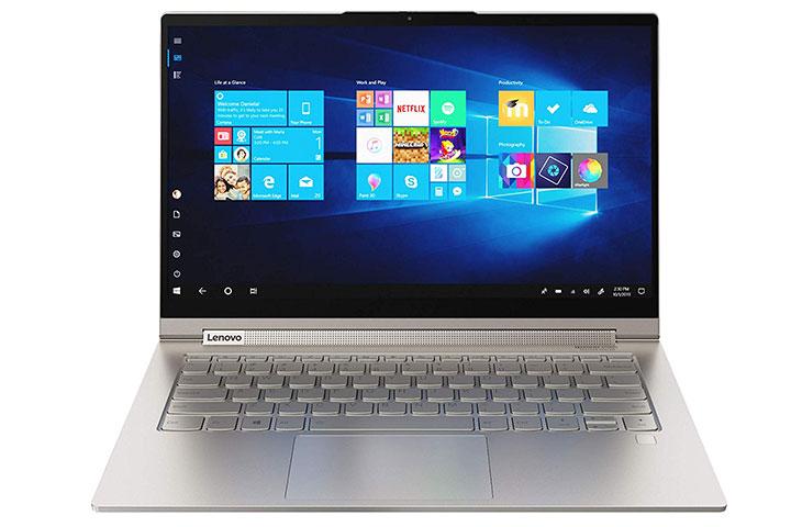 Lenovo Yoga c940 với thiết kế mỏng nhẹ, sang trọng
