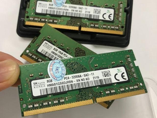 Ram Laptop SK hynix DDR4 Bus 3200Mhz phù hợp sử dụng với tất cả dòng máy