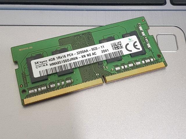 Địa chỉ cung cấp ram Laptop SK hynix DDR4 Bus 3200Mhz chính hãng, giá tốt