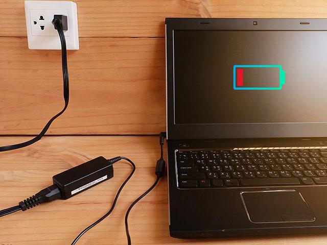 Sửa lỗi laptop dell sạc pin không vào điện hiệu quả